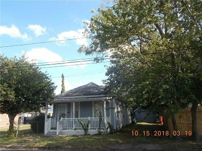 Newport News Single Family Home New Listing: 124 North Ave