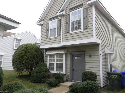 Newport News Single Family Home New Listing: 712 Casper Ln
