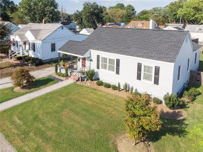 Hampton Single Family Home New Listing: 328 Darby Ave