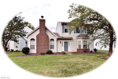 Newport News Single Family Home New Listing: 2248 White House Cv