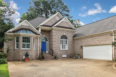 Yorktown Single Family Home New Listing: 903 Water Fowl Dr