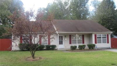 Norfolk Single Family Home New Listing: 5893 Bartee St