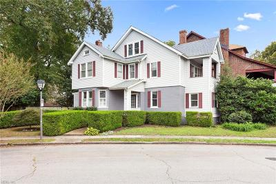 Norfolk Single Family Home New Listing: 4012 Newport Ave