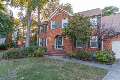 Chesapeake Single Family Home New Listing: 1316 Forest Point Dr