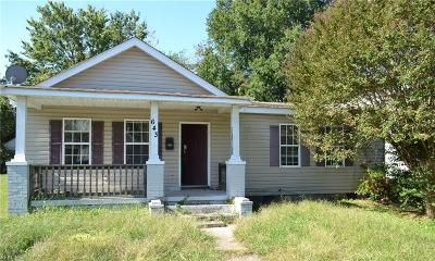 Hampton Single Family Home New Listing: 643 Pocahontas Pl