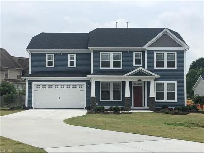 Virginia Beach Single Family Home Under Contract: 3813 Kyndles Way