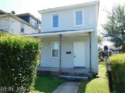 Newport News Single Family Home New Listing: 2911 Wickham Ave #Ave