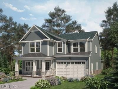 Newport News Single Family Home New Listing: Mm The Cape Craftsman At Huntington