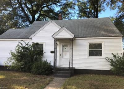 Norfolk VA Single Family Home New Listing: $67,500