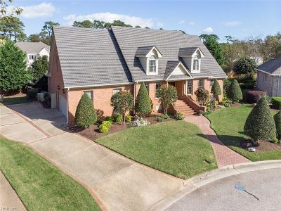 Virginia Beach Single Family Home New Listing: 1728 Jordans Parish Pl