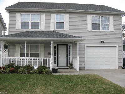 Norfolk VA Single Family Home Under Contract: $235,000