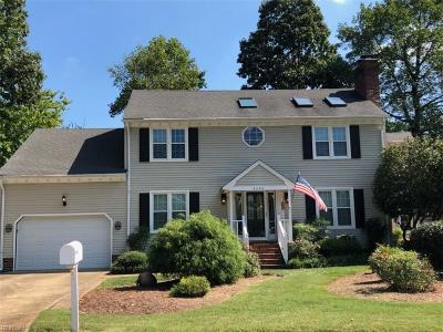 Virginia Beach Single Family Home New Listing: 4200 Thalia Forest Ln