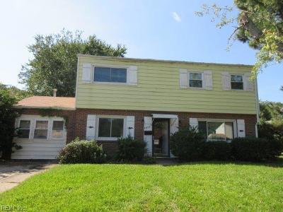 Hampton Single Family Home New Listing: 1211 Micott Dr