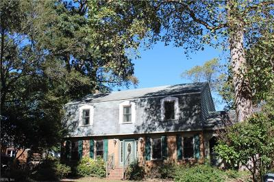 Virginia Beach Single Family Home New Listing: 908 Kaster Arch