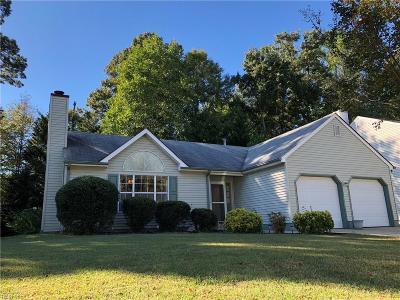 Newport News Single Family Home New Listing: 117 Summerglen Rdg