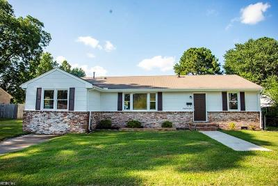 Portsmouth Single Family Home New Listing: 4112 Bart St