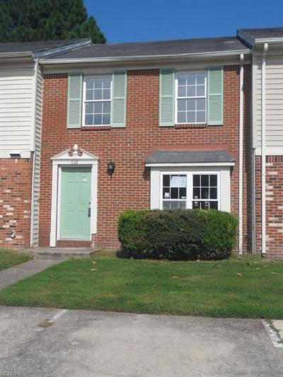 Hampton Single Family Home New Listing: 536 Hollomon Dr