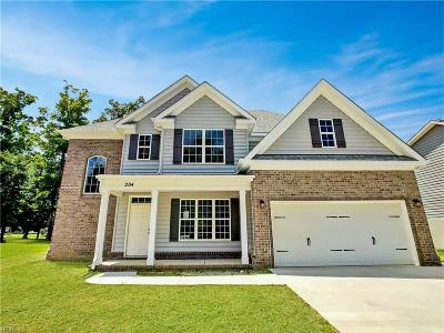 Chesapeake Single Family Home New Listing: Mm Willow Brabble Shores
