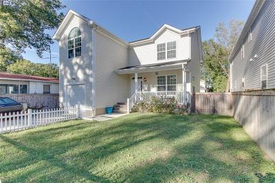 Norfolk Single Family Home New Listing: 930 Woronoca Ave