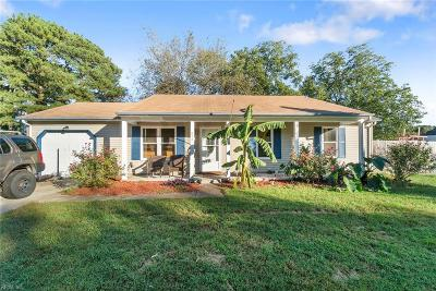Chesapeake Single Family Home New Listing: 817 Dana Dr