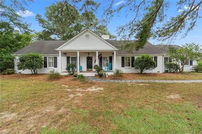Virginia Beach Single Family Home New Listing: 485 Goodspeed Rd