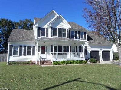 Chesapeake Single Family Home New Listing: 2308 Eagle Dr