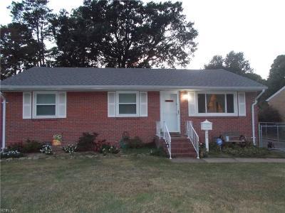 Hampton Single Family Home New Listing: 839 Redheart Dr