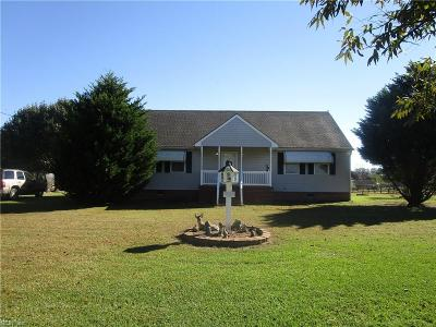 Suffolk Single Family Home New Listing: 1836 Jenkins Mill Rd