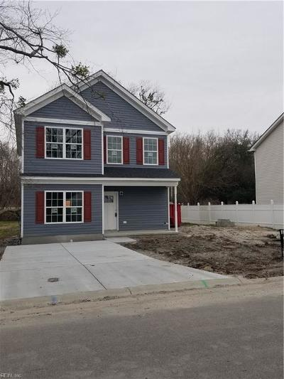 Suffolk Single Family Home New Listing: 6328 Freeman Ave