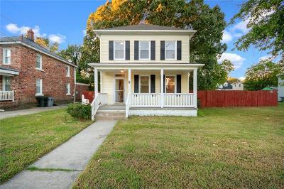 Hampton Single Family Home New Listing: 3619 Victoria Blvd
