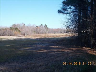 Chesapeake Residential Lots & Land For Sale: 3800 Conway Rd