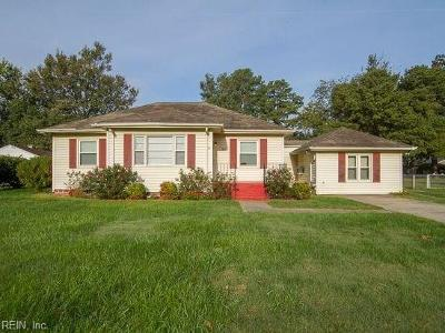 Norfolk Single Family Home New Listing: 1147 Wade St