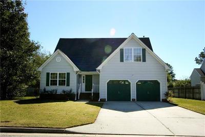 Chesapeake Single Family Home New Listing: 4121 Mystic Cv