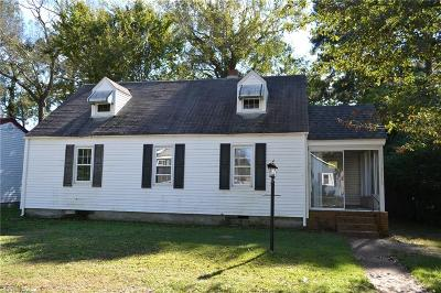 Portsmouth Single Family Home For Sale: 4115 Race St