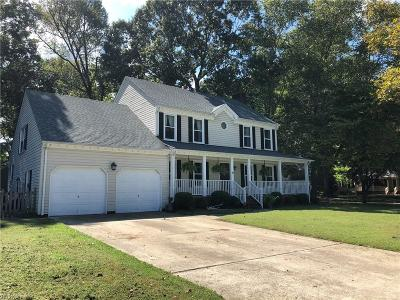 Chesapeake Single Family Home New Listing: 1004 Chalbourne Dr