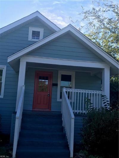 Hampton Single Family Home New Listing: 231 Powhatan Pw