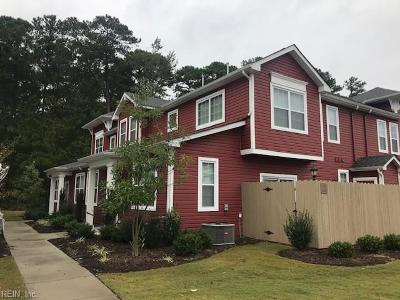 Chesapeake Single Family Home New Listing: 2604 Leytonstone Dr #339