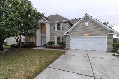 Virginia Beach Single Family Home New Listing: 2704 Alameda Dr