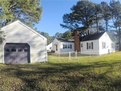 Chesapeake Single Family Home New Listing: 1201 Earle Ave