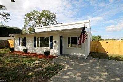 Suffolk Single Family Home New Listing: 2028 Kilby Ln