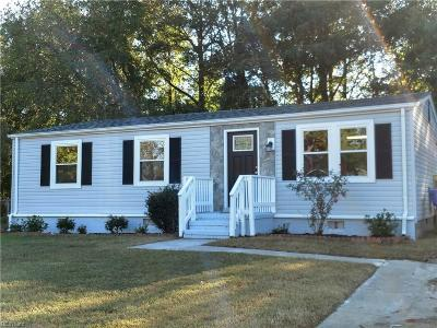 Suffolk Single Family Home New Listing: 613 Chisholm Ln