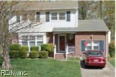 Hampton Single Family Home New Listing: 1417 Dorene Ct