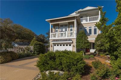 Virginia Beach VA Single Family Home New Listing: $859,000