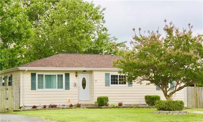 Virginia Beach Single Family Home New Listing: 4821 Haygood Rd