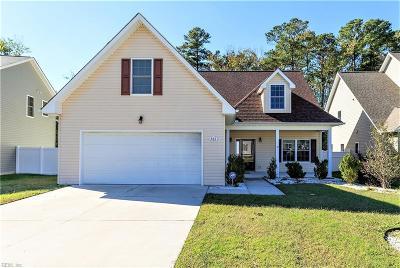 Newport News Single Family Home For Sale: 761 Verlander Ct
