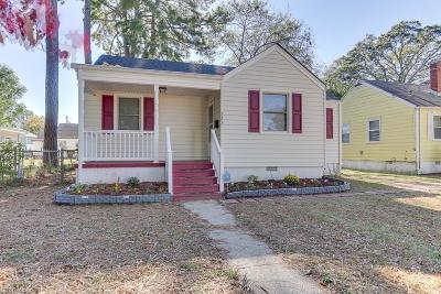 Norfolk Single Family Home New Listing: 223 E Westmont Ave