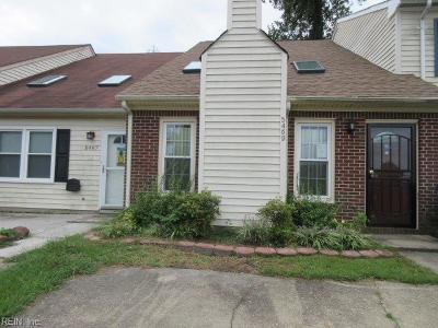 Virginia Beach VA Single Family Home New Listing: $120,000