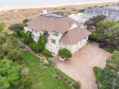 Virginia Beach VA Single Family Home New Listing: $2,400,000