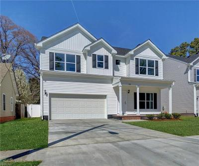 Norfolk Single Family Home New Listing: 864 Brentwood Dr
