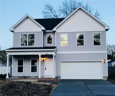 Norfolk Single Family Home New Listing: 8012 Westcliff Dr